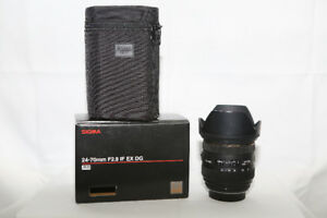 Sigma 24-70mm F2.8 IF HS DG Lens For Pentax