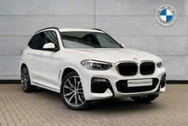 image for 2018 BMW X3 SERIES X3 xDrive20d M Sport SUV Diesel Automatic