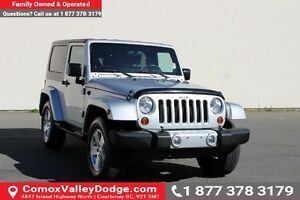 2008 Jeep Wrangler Sahara LOW KM, ONE OWNER, KEYLESS ENTRY, B...