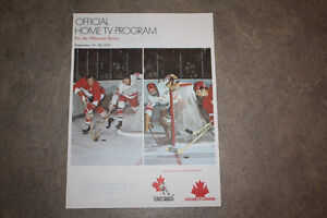 1972 Summit Series home  guide