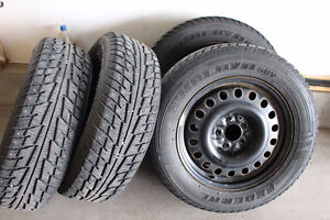 FOR SALE WINTER TIRES W/ RIMS  225/65R17 TOYOTA RAV4