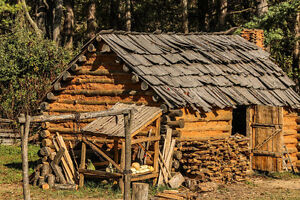 looking for trappers' cabin or similar