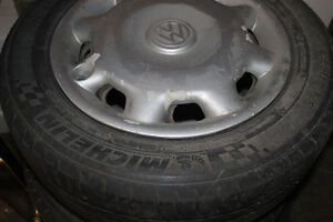 195/60R14 off a Volkswagen including rims