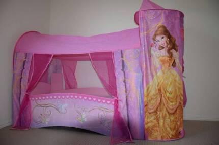 Disney Princess pink bed ,beautiful