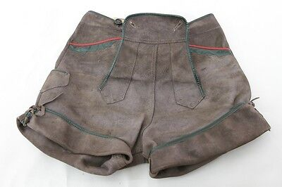 Beautiful Old Leather Trousers Federal 29cm