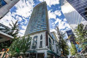 1 bed 1 den condo , prime convenient location @ DT Vancouver