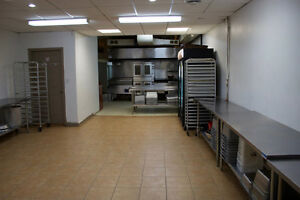 Low rent commercial kitchen space for lease