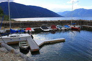 Kootenay Lake Cabin with Marina Boat Slip