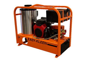 Industrial Hot Water Gas Engine High Pressure Cleaning System