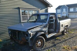1987 Ford Ranger Turbo Diesel (Project Truck)Sold Thank You Kiji