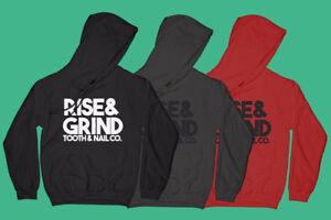 Rise & Grind hoodies