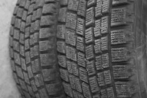 205/65R16 Bridgestone Blizzak 2 USED WINTER TIRES 85%TREAD LEFT