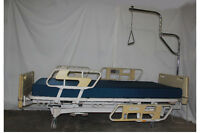 Hill Rom hospital facility bed