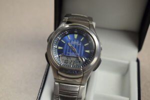 Casio Illuminator Collection Men's Watch AQ-180WD w/ Box