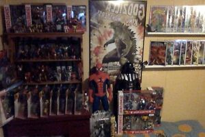 HUGE GODZILLA COLLECTION, MARVEL LEGENDS, TRANSFORMERS Edmonton Edmonton Area image 4