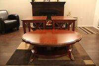 Soild Wood Coffee Table and End Tables