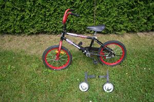 Vélo pour enfant de 4 à 6 ans, roues de 16 pouces,