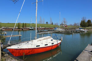 Tanzer 26' Sailboat including dockage in Bayfield