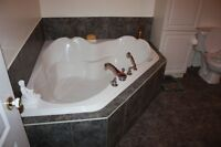 Great deal beautiful 2 seated jet bath!!!Tres beau bain 2 places