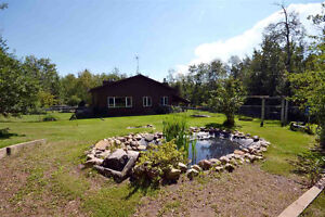9 acres Close in to SHERWOOD PARK & THE FORT PRIVATE  TREED