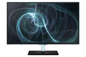 Samsung 24 Inch LED-Lit Monitor - w/ 178-Degree Viewing - Black/