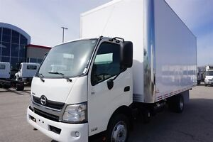 2013 Hino 195-173 with 20' Body