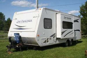 2012 Jayfeather Jayco Ultralight Trailer