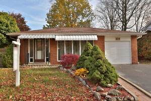 South east Oakville Renovated Bungalow for lease - Rent