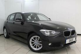 2014 64 BMW 1 SERIES 1.6 116D EFFICIENTDYNAMICS BUSINESS 5DR 114 BHP DIESEL