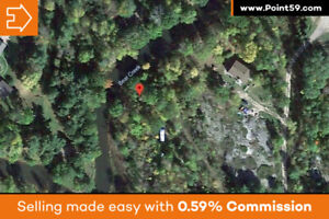 Beautiful 1 acre waterfront building lot