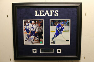 Wendel Clark signed autograph Toronto Maple Leafs frame