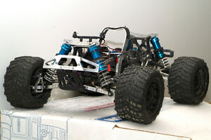 HPI Savage RC Rolling Body - filled with aluminum parts