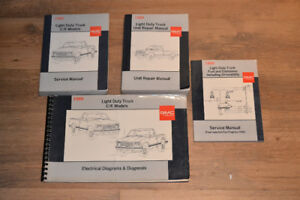 1989 Chevy Truck  Manuals