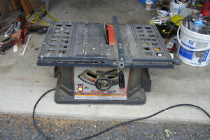 10 inch Sears Craftsman Table saw