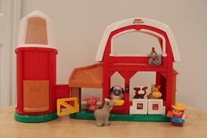 Toys for toddlers (Little People, etc)/ Jouets pour enfants