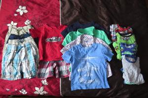 Vêtements pour garçon 4 ans pour l'été (18 mcx)