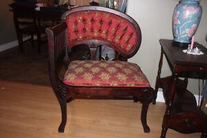 Antique Unusual Designed Chair