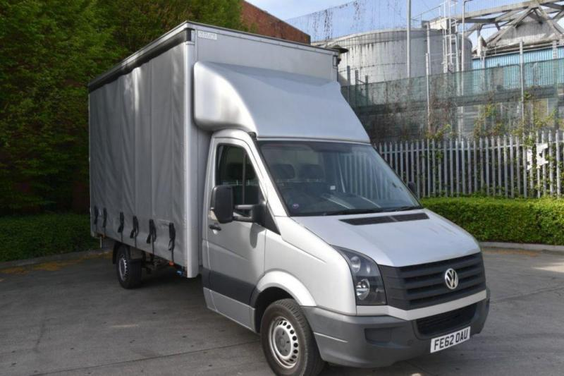 2.0 CR35 TDI 3D 136 BHP LWB DIESEL CURTAIN SIDE LUTON VAN 2012