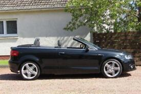2012 Audi A3 Cabriolet 2.0 TDI S Line Convertible 2dr Diesel Manual (119