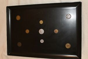 Hand crafted coin tray