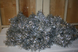 Christmas Garland- Tinsel, wooden & plastic beads-See photos Belleville Belleville Area image 3