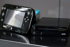 Nintendo Wii U 32GB Deluxe Edition With Game For Sale!!
