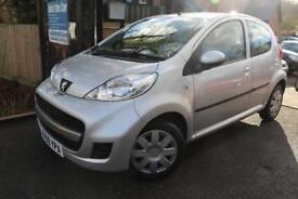 2009 Peugeot 107 1.0 Urban 5Dr Silver FSH Long MOT Low Mileage Finance Available