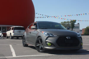 2013 Hyundai Veloster TURBO Matte Grey