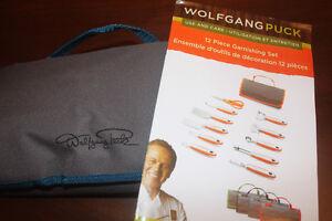 NEW Wolfgang Puck 12 Piece Garnishing Tool Set (Reg. 57.99 US)