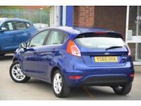 2015 Ford Fiesta 1.25 Zetec (82 PS) Petrol blue Manual