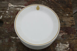 Canadian Armed Forces Dinnerware! 12 Side Plates!
