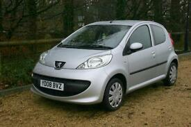 Peugeot 107 Urban 5 Door done 55667 Miles with Great SERVICE HISTORY