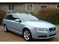 Volvo V70 D5 SE Lux AWD Geartronic 2008, 33K MILES, FULL S/HISTORY, NEW MOT