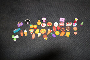 Large lot of 36 Gomu collectible erasers (Gomus)